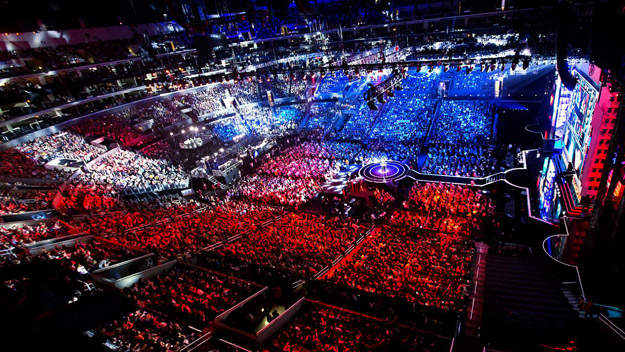 The League of Legends Championship Series. This is what is possible when a game community has the time to grow.