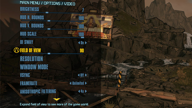 borderlands_2_fov_slider - Pyroteq