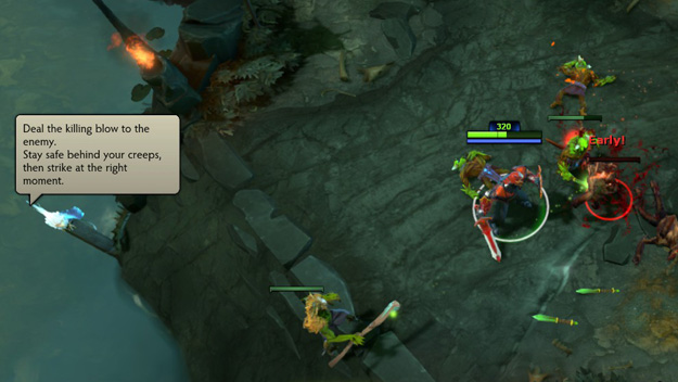 Dota 2 last hit tutorial