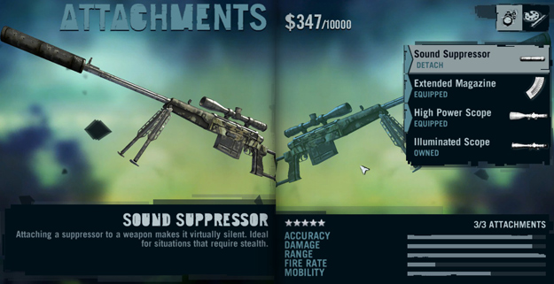 This sniper rifle was responsible for clearing the entire South Island of enemies during my play through of Far Cry 3.