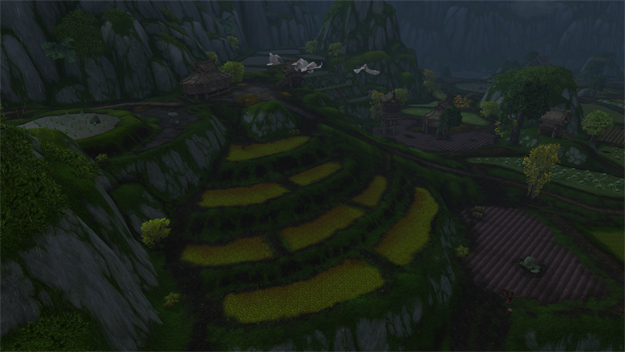 Valley of the Four Winds. A zone from WoW filled with farm land.